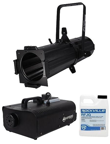 Chauvet DJ EVE E 100Z White Ellipsoidal LED DMX Gobo Projector Spot Light Fogger