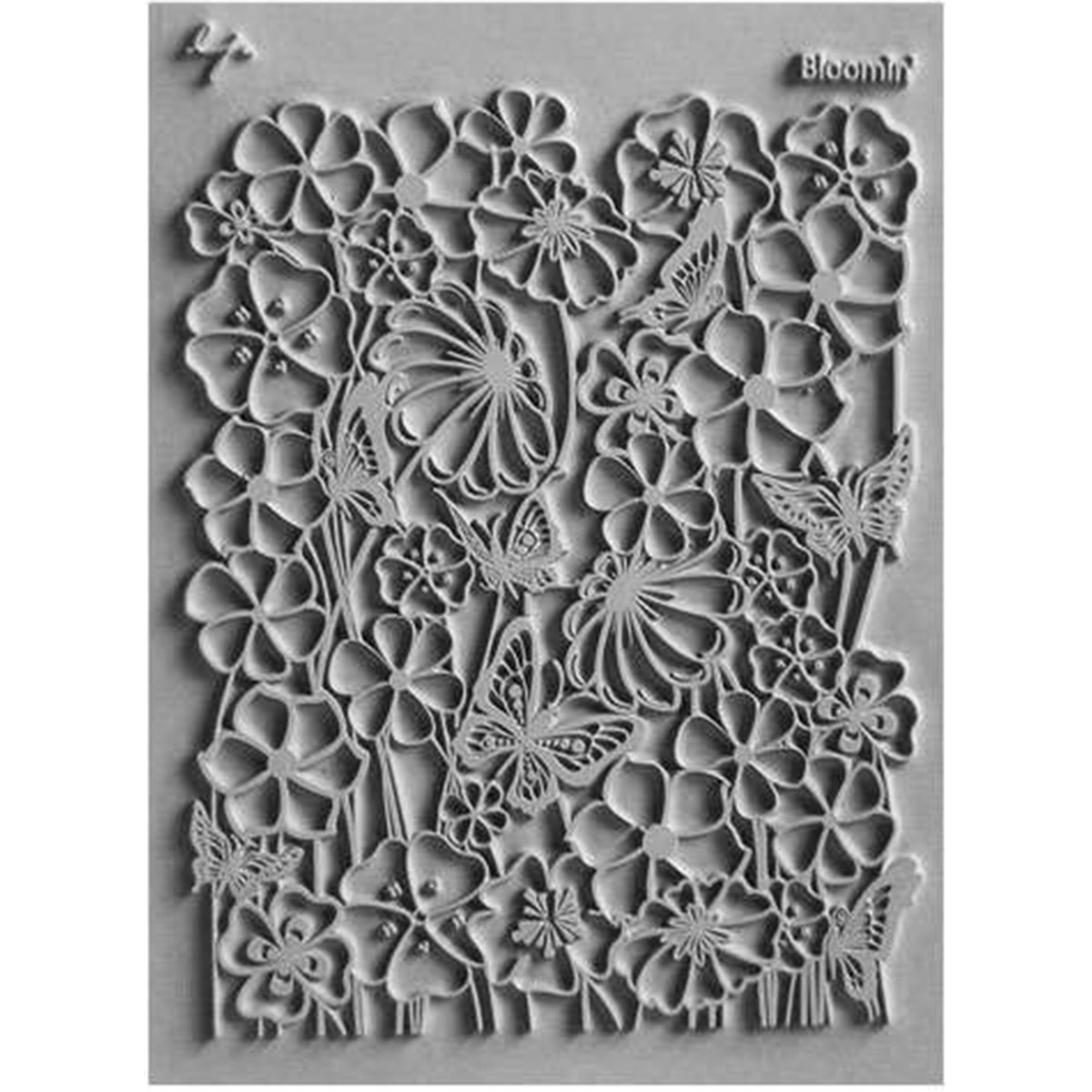 Lisa Pavelka Individual Texture Stamp 4.25x5.5-Bloomin' Great Create 28783688