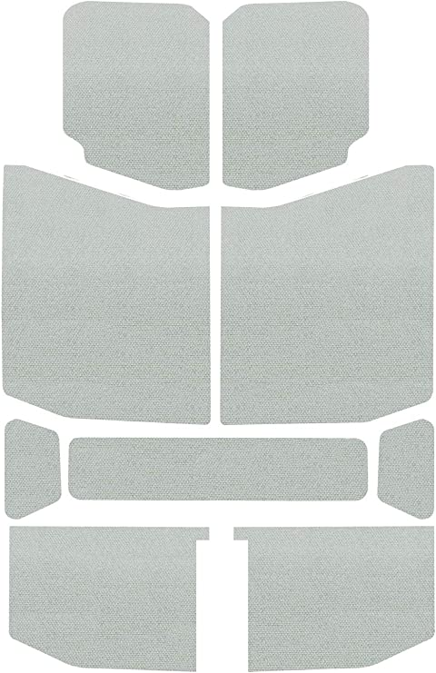 Design Engineering 050140 Boom Mat Sound Deadening Headliner for 2-Door Jeep Wrangler JK Grey 2011-2018