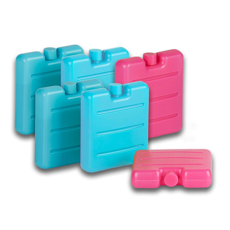 Tradingo Mini Nevera batería - Juego de 6 en Rosa, Verde y Azul ...
