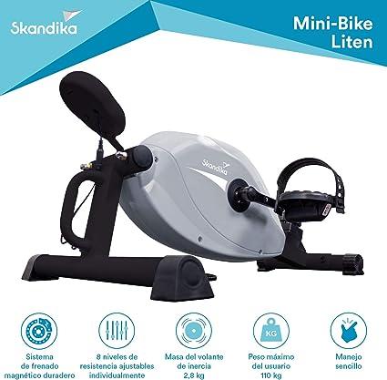 skandika Liten - Mini Bicicleta de Entrenamiento estática - 8 ...