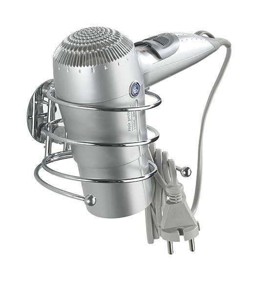 220 opinioni per WENKO 18770100 Turbo-Loc porta asciugacapelli- fissaggio senza trapano, Acciaio,