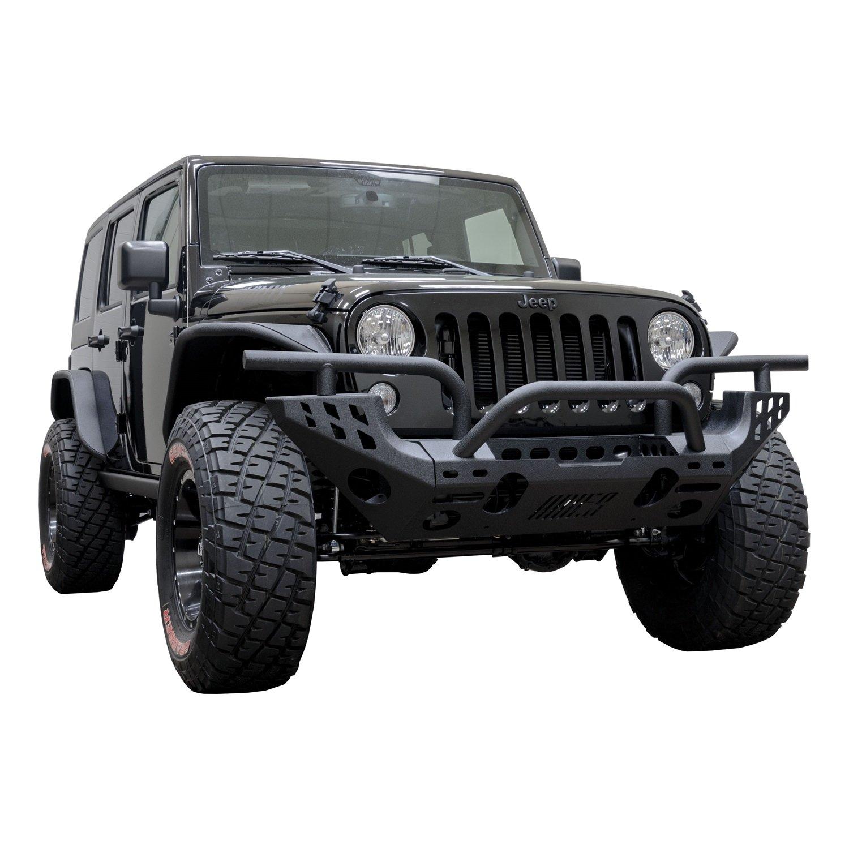 Aries AL15600 Black Aluminum Front Replacement Bumper
