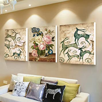 Wall Decorartwork Wall Grouping 3 Pieces Modern Simple Living Room