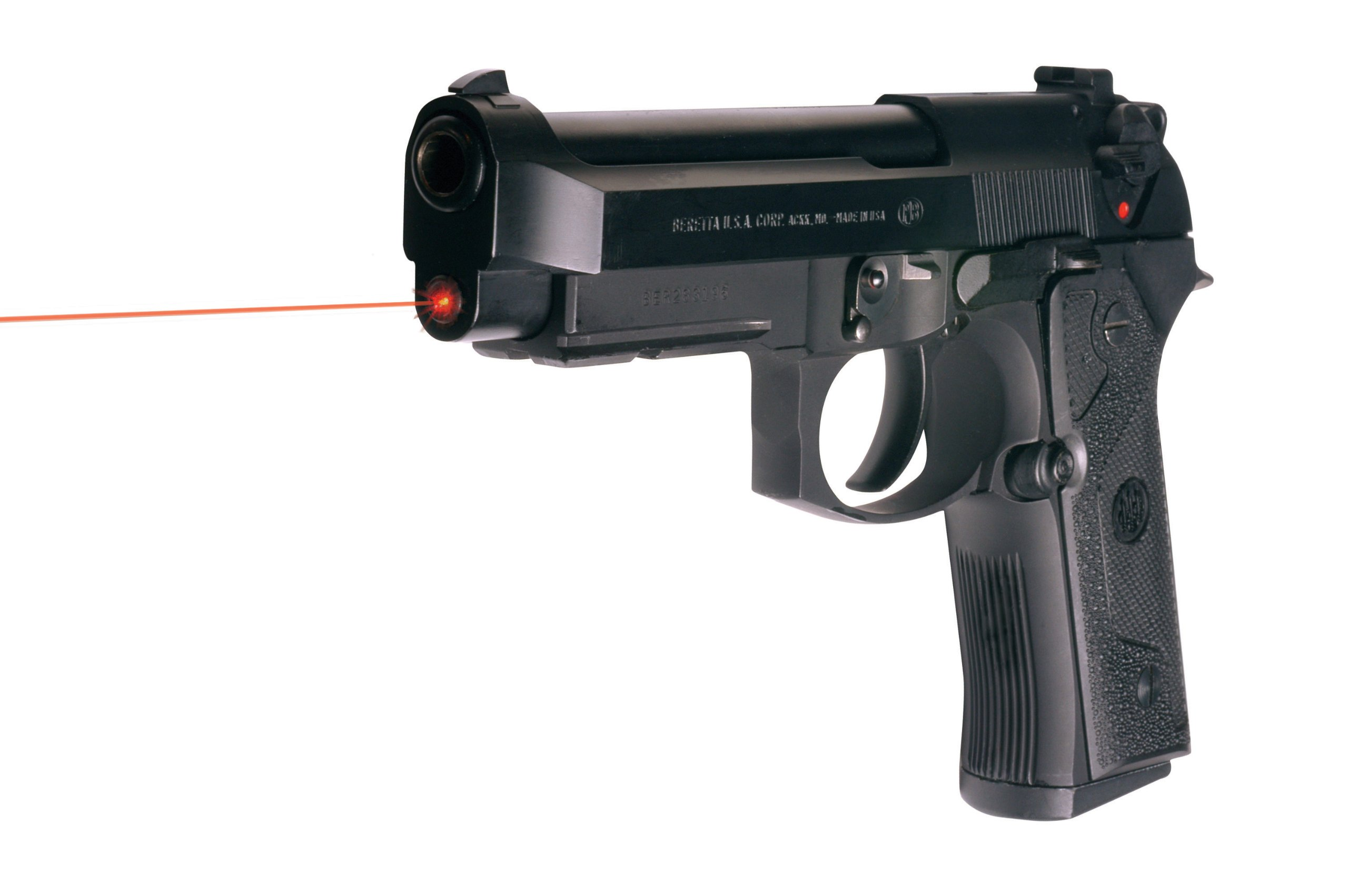 LaserMax LMS-1441 Guide Rod Laser for Beretta 92 & 96 full size and Taurus PT92, PT99, PT100, and PT101 by LaserMax (Image #2)
