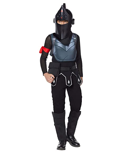Spirit Halloween Boys Fortnite Black Knight Costume Deluxe