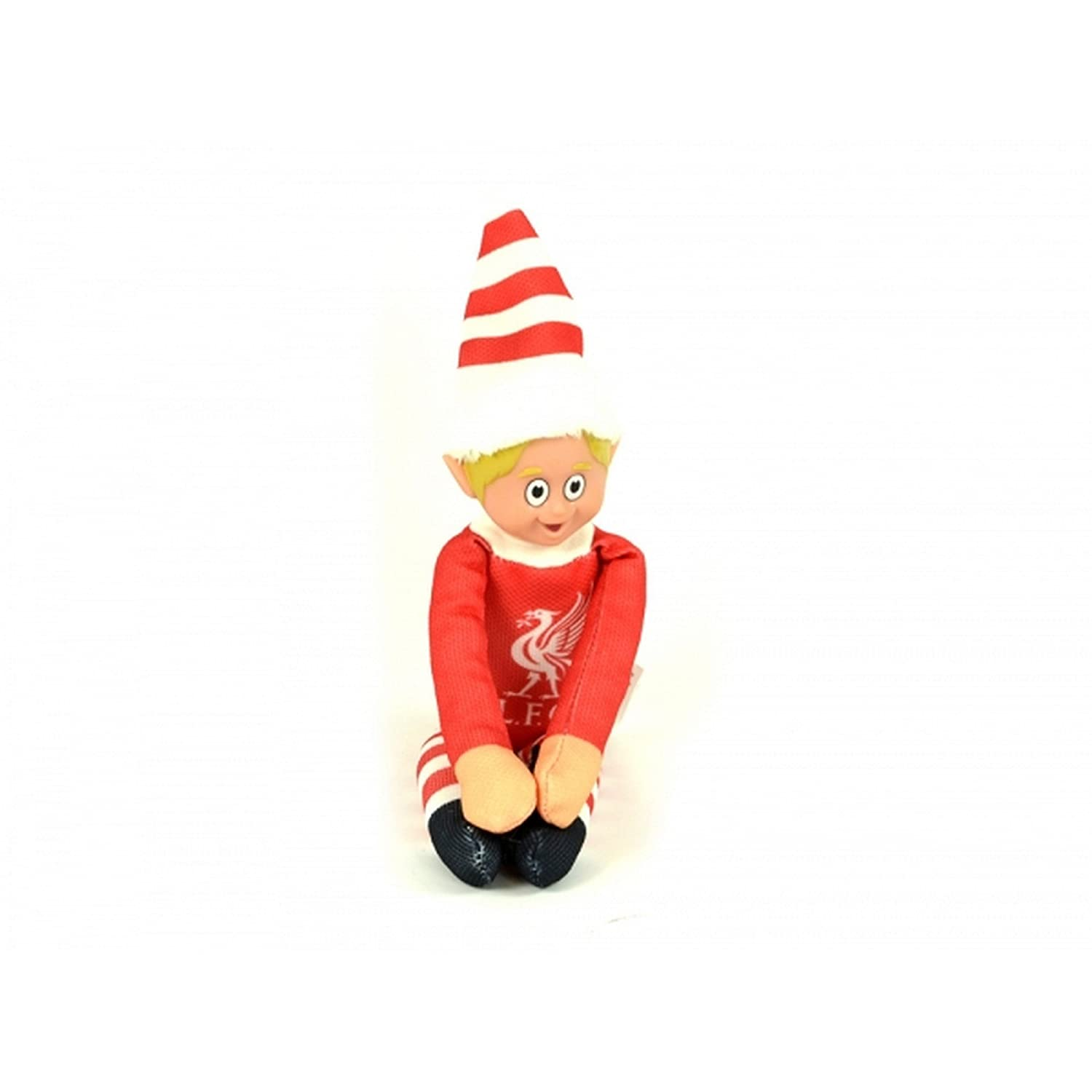6c243d9552a Liverpool FC Official Football Christmas Team Elf (One Size) (Red White)   Amazon.co.uk  Clothing
