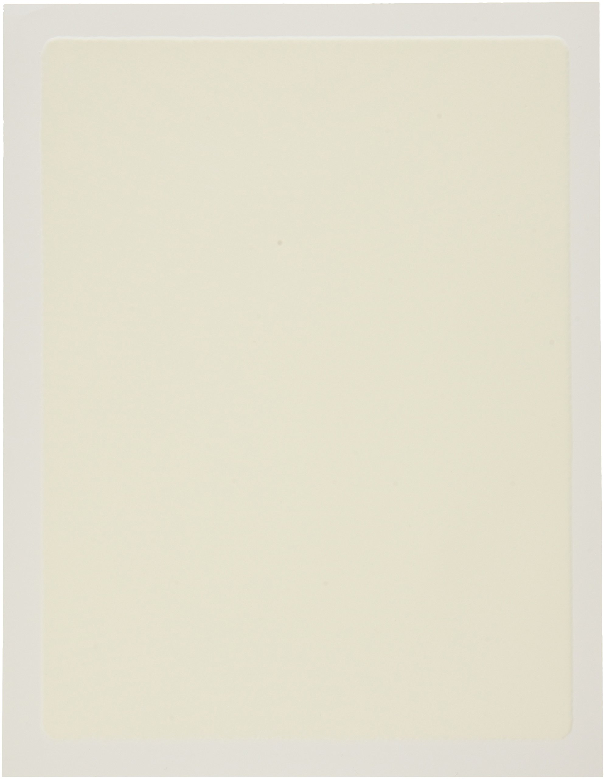 Oasis Supply Edible Frosting Sheets for Cake Top Printing, 7.5 by 10-Inch, 24 Sheets, White
