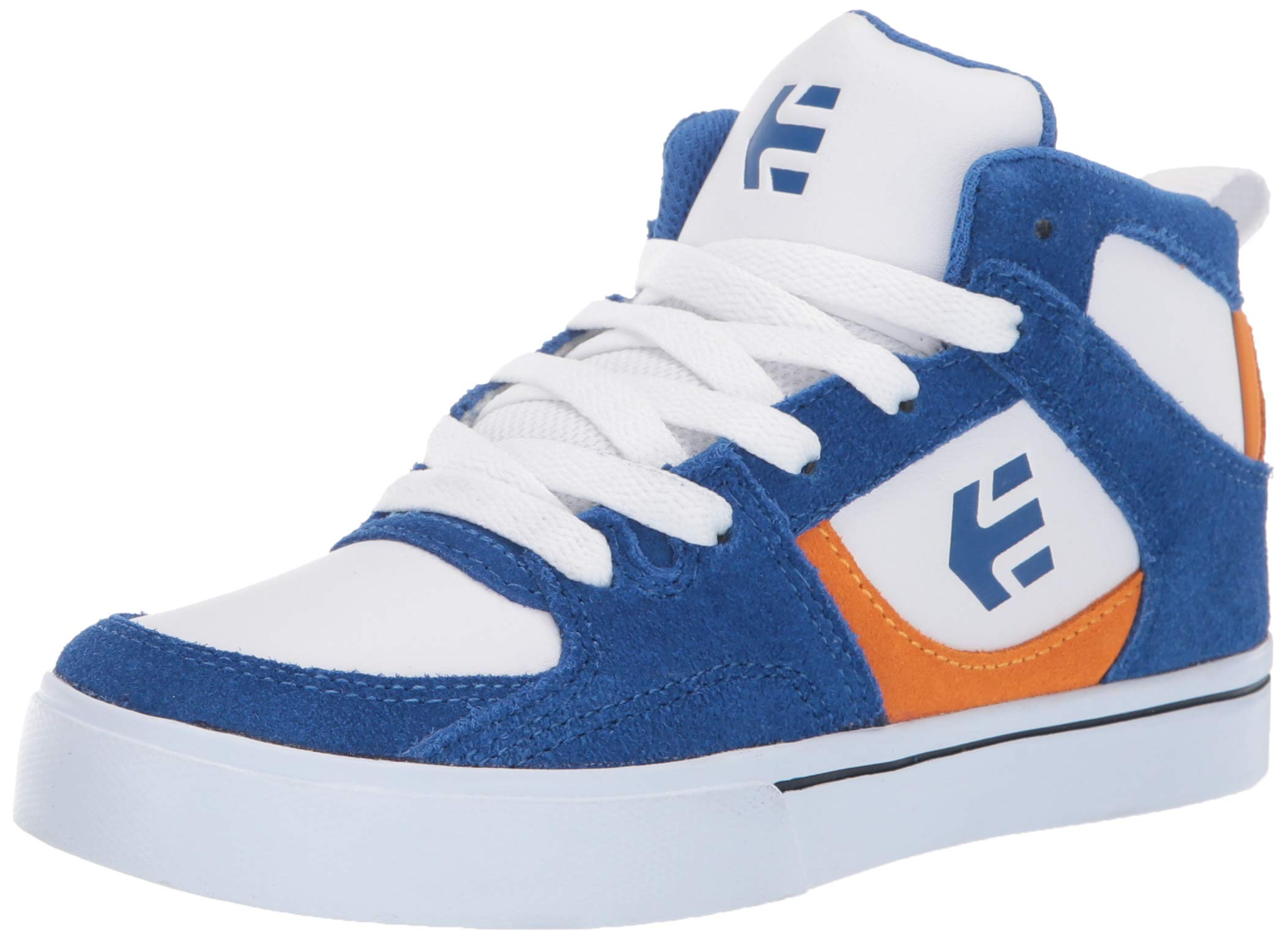 Etnies Unisex Harrison HT Skate Shoe Royal/Orange/White 1.5C Medium US Big Kid
