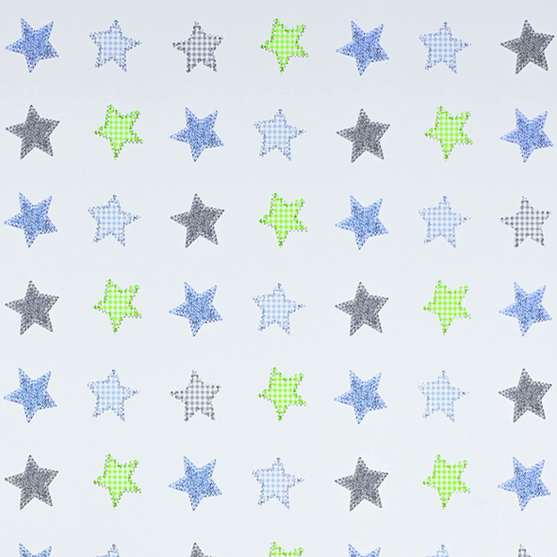 Geuther - Wand-Wickelregal Wicki, weiß, TÜV geprüft,  inkl. Wickelmulde, weiß, Wicki, Sterne 649844