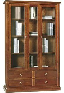 Lo Scrigno Arredamenti, Libreria/Vetrina Arte Povera 2 Porte Vetro ...
