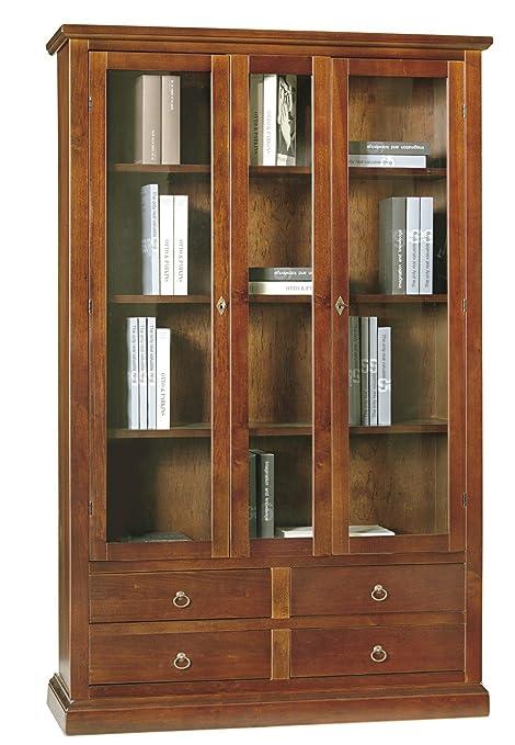 Lo Scrigno Arredamenti, Libreria/Vetrina Arte povera 2 porte 4 ...