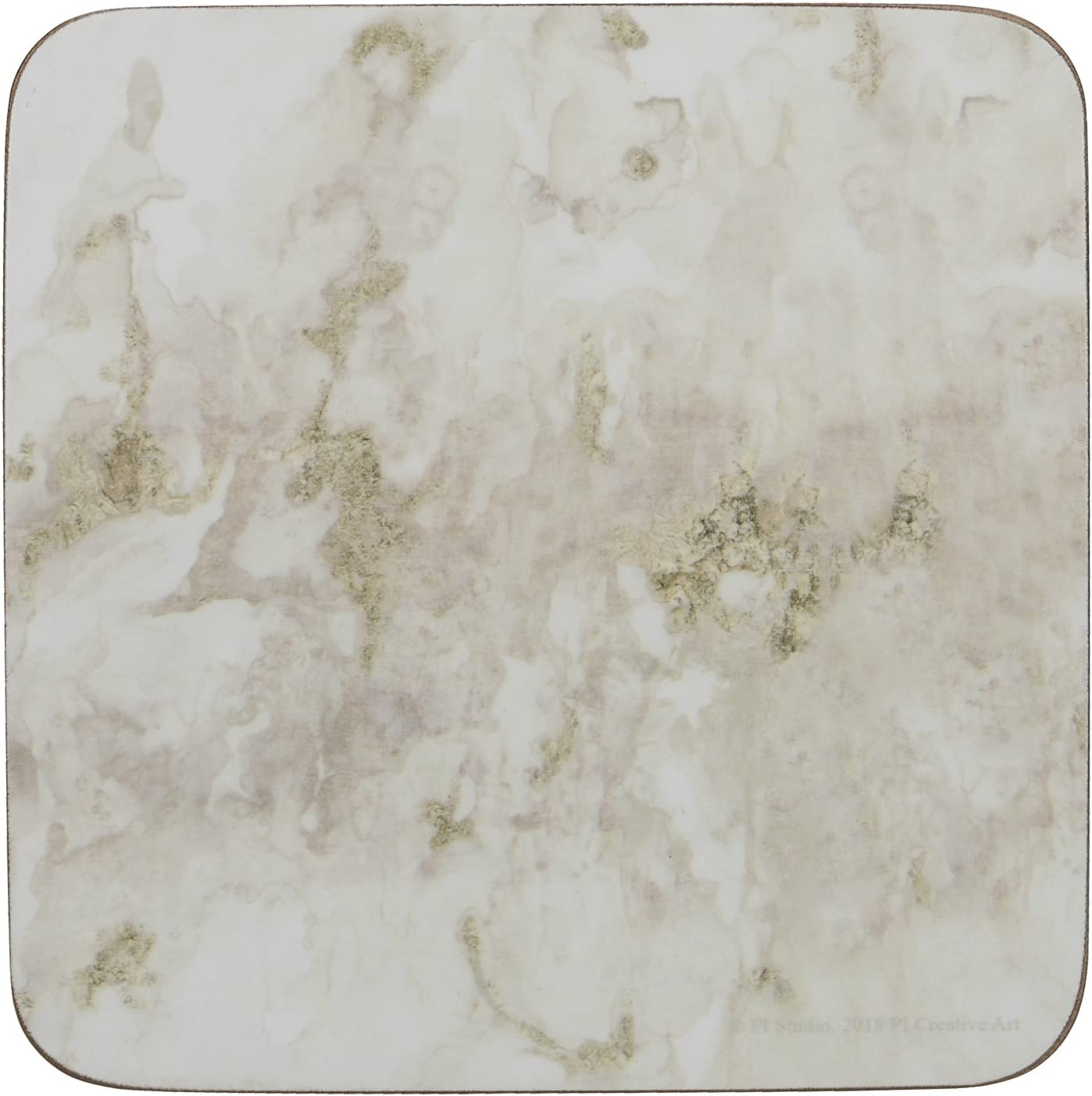 dise/ño de vinos pr/émium parte posterior de corcho Juego de 6 manteles individuales Corcho Coasters Creative Tops