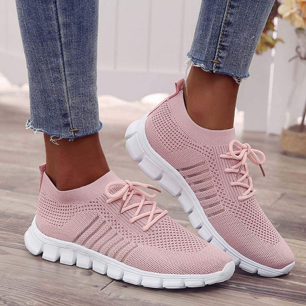 Oasisocean Sneakers Women Running Sneakers Ultra Lightweight Shoes Breathable Fashion Casual Athletic Shoes for Walking