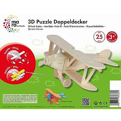 Marabu - Puzzle 3D de 25 Piezas: Juguetes y juegos