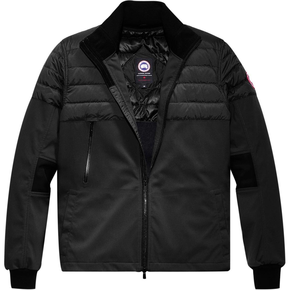 (カナダグース)Canada Goose Jericho Beach Jacket メンズ ジャケットBlack/Black [並行輸入品] B079ZTTZV3  Black/Black 日本サイズ LL (US L)