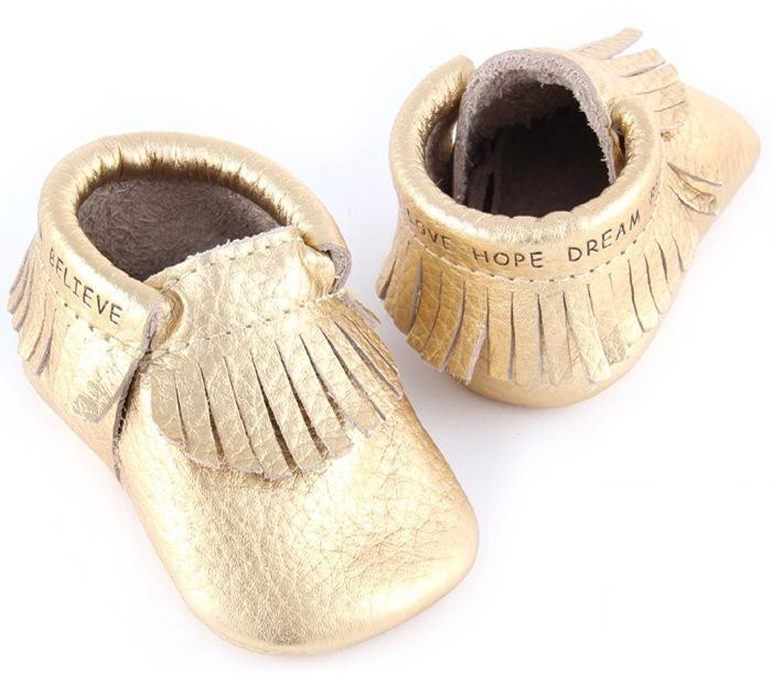 Amazon First Steps Moccasins for Babies Soft Soled Baby Shoes