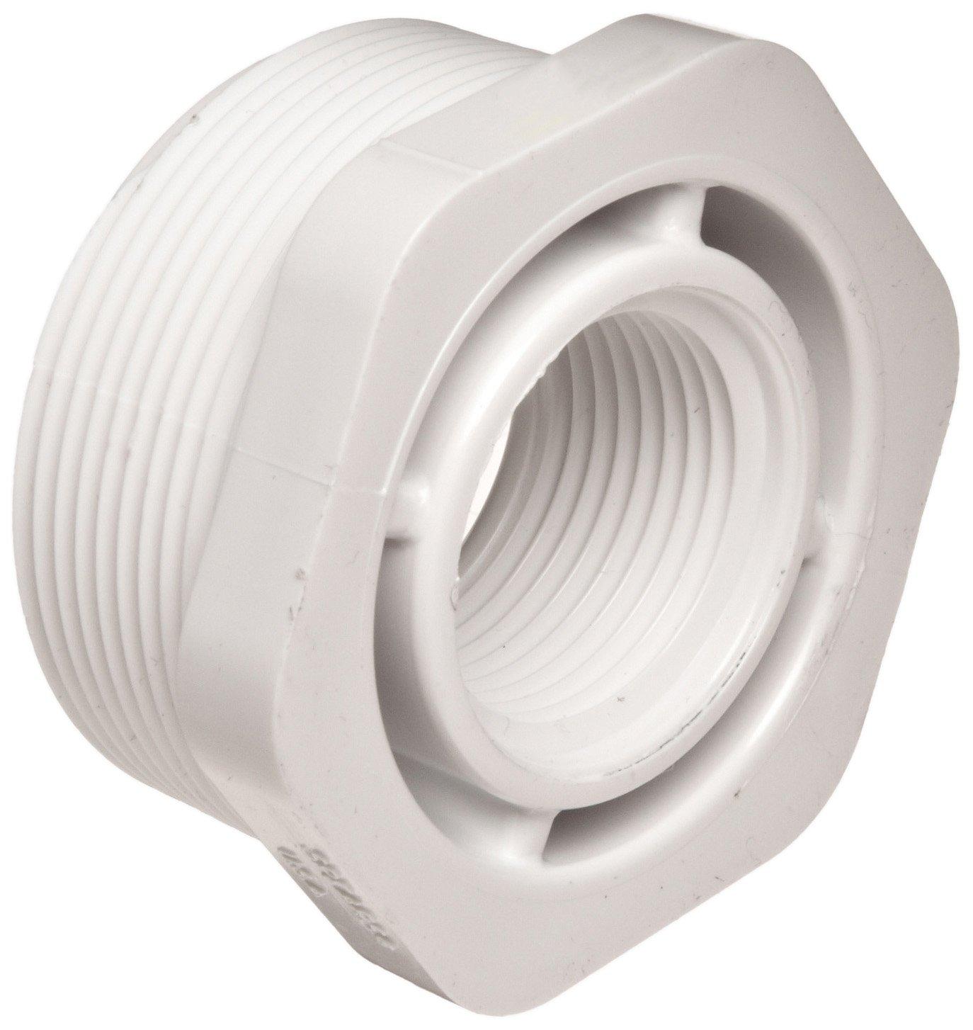 Flowline LM52-1400 PVC Reducer Bushing, 2'' x 1'' NPT Thread