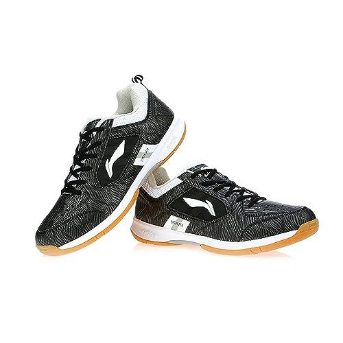 Li-Ning Unisex Black Badminton Shoes -UK 8.0  Buy Online at Low ... 01807af40