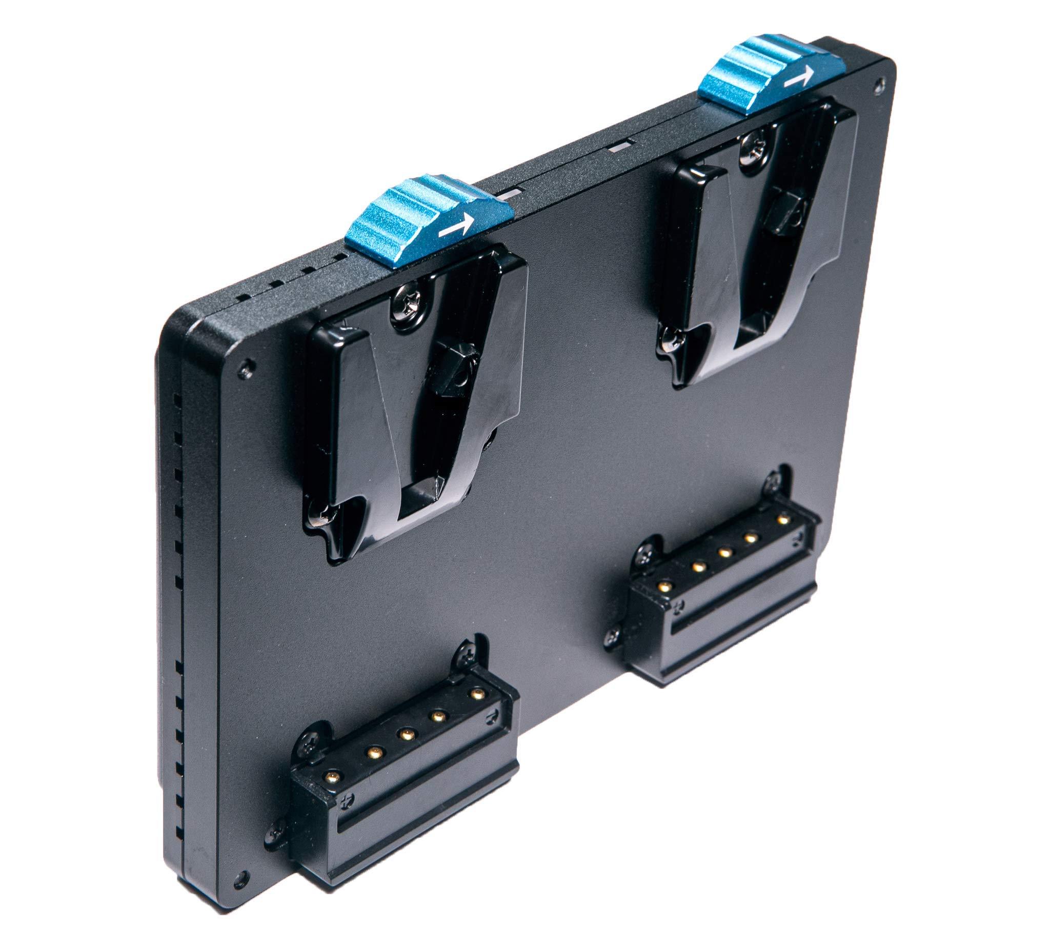 Intellytech Pocket-V Dual Battery Plate - V-Mount to V-Mount by Intellytech