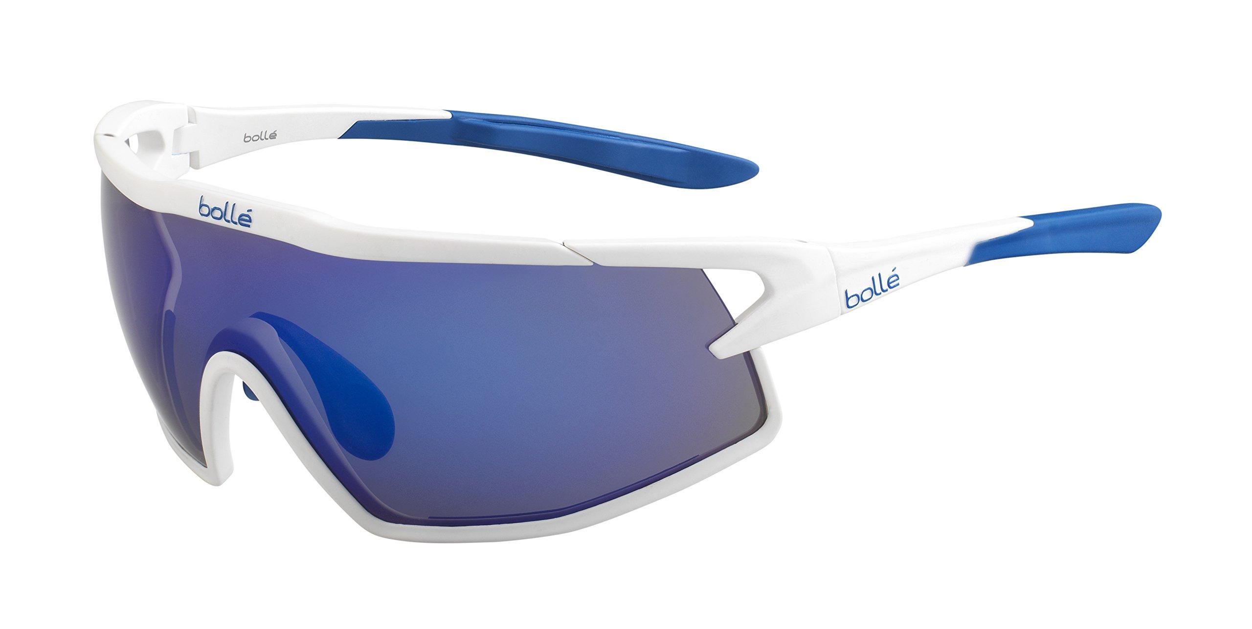 Bolle B-Rock Sunglasses Matte White, Purple