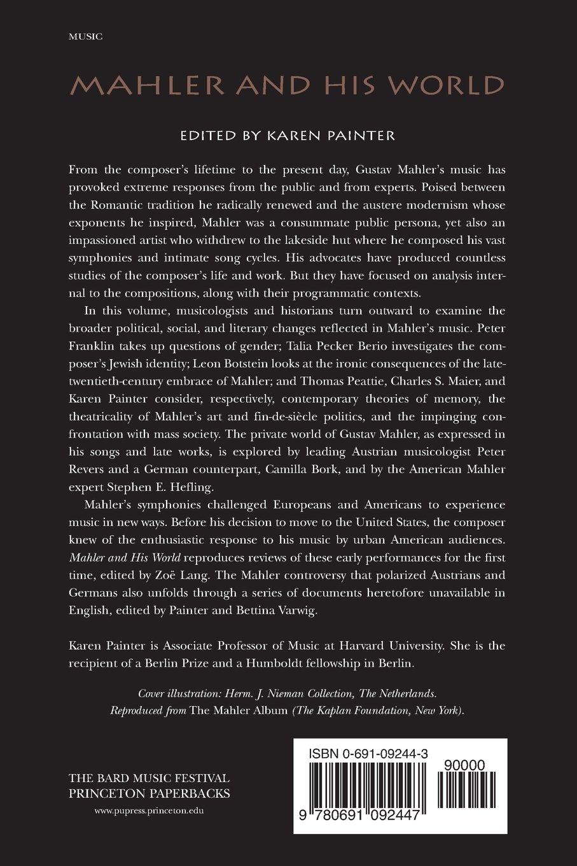 Mahler and His World (The Bard Music Festival): Karen Painter:  9780691092447: Amazon.com: Books