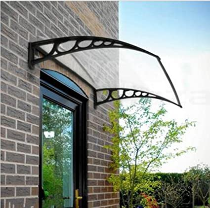 Attrayant Door U0026 Window Awning Outdoor Window Canopy Awning Porch Sun Shade Shelter  Outdoor Patio Rain Cover