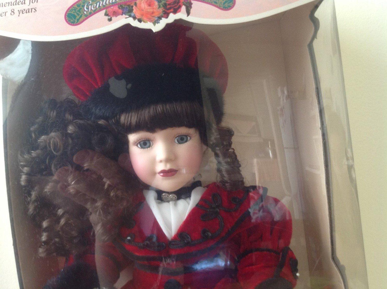 Victorian Collection: Genuine muñeca de porcelana