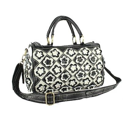 Damen Ledertasche Nähende Einkaufstasche Schulter Umhängetasche Gestreifte Farbe Tasche Lady Bag Exquisit Tote übertrieben Big Bag,Color-OneSize CHENGXIAOXUAN