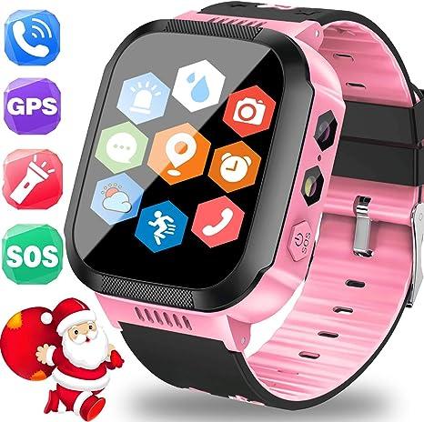 Amazon.com: Turnmeon - Reloj inteligente con GPS para niños ...