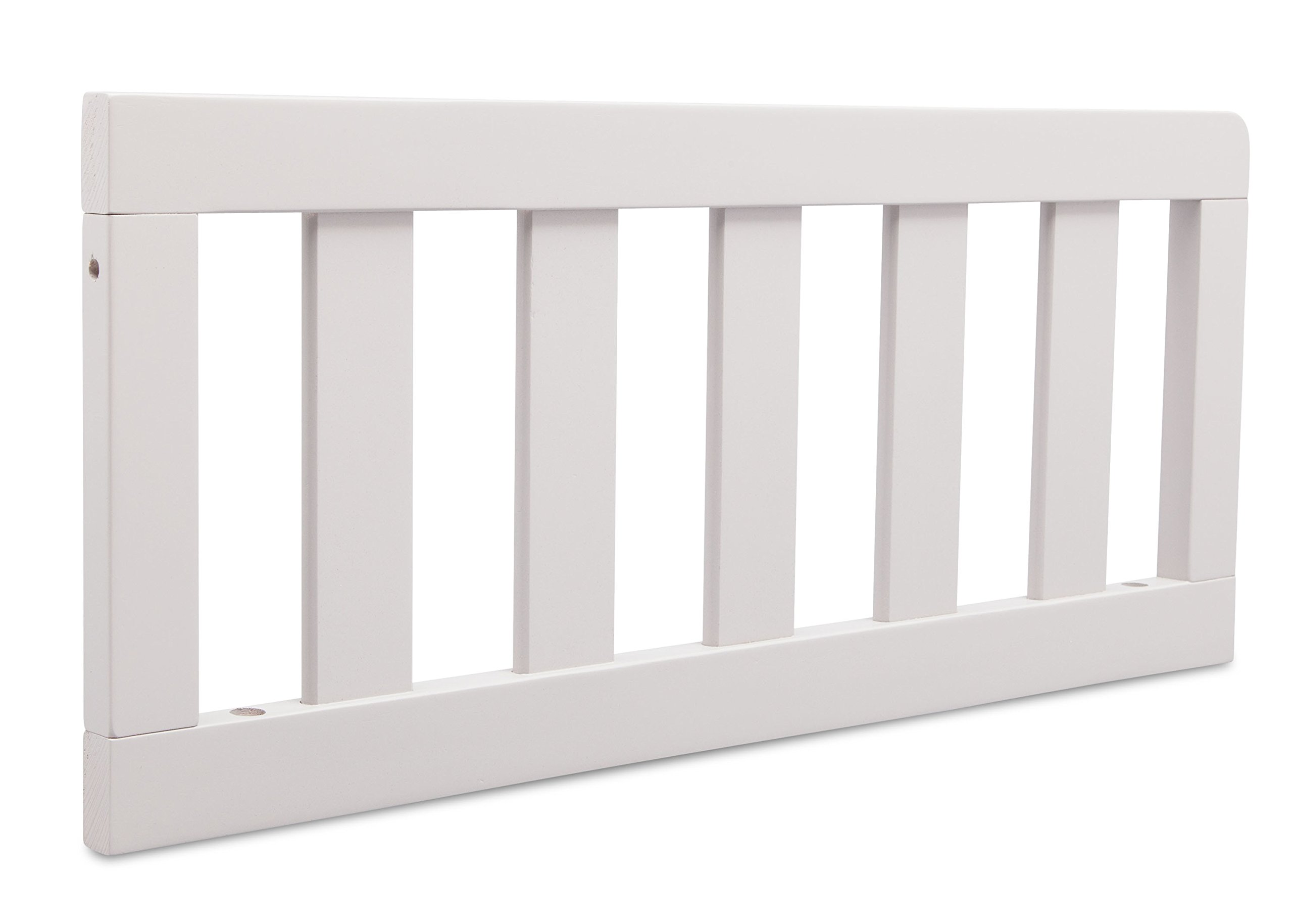 Delta Children Toddler Guardrail #0094, Bianca White by Delta Children