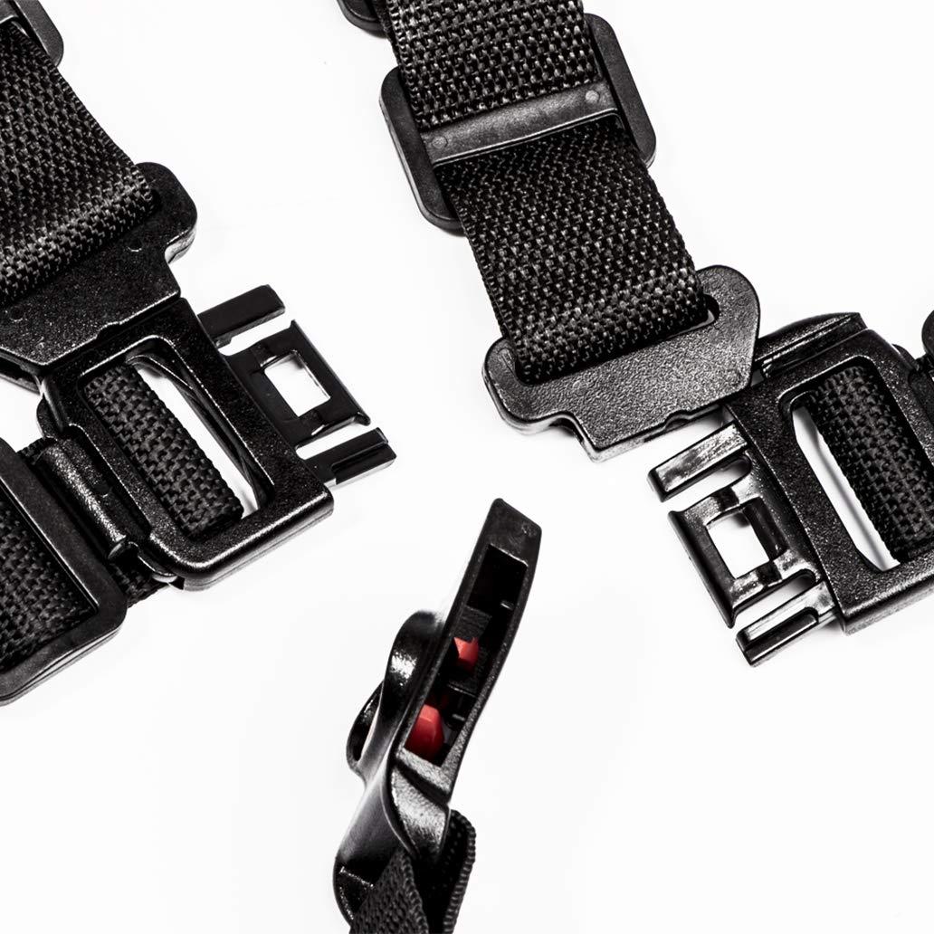 Beb/é 5 Puntos Cintur/ón Seguridad Con correa de hombro almohadillas y guardia pad punto ajustable para beb/é Kid Safe para Trona Cochecito y Silla de Paseo