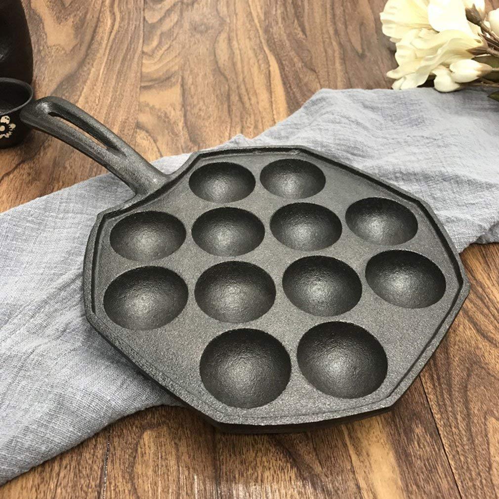 12 hoyos fácil de limpiar fabricante del molde Grill Takoyaki Pan ...