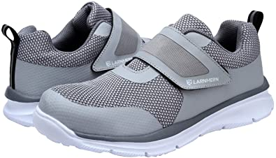 brand new e760b b4e7a Image Unavailable. Image not available for. Color  LARNMERN Composite Toe  Sneakers for Men Steel Toe Work Footwear ...