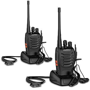 Lot De Talkie Walkie Rechargeable Sur Batterie Canaux Longue - Talkie walkie longue portée
