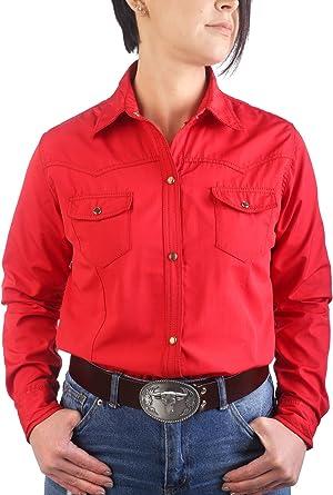 Last Rebels Country - Camisa para Mujer, Color Rojo Rojo X ...