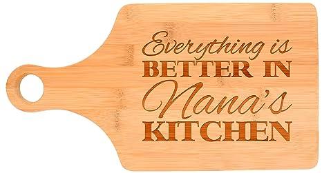 Amazon Everything Is Better In Nanas Kitchen Grandma Gift