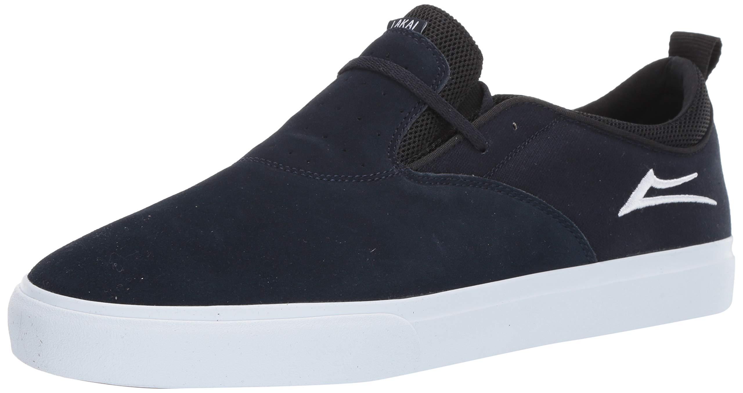 Lakai Footwear Riley 2 Navy SUEDESize 11 Tennis Shoe Suede, Standard US Width US by Lakai