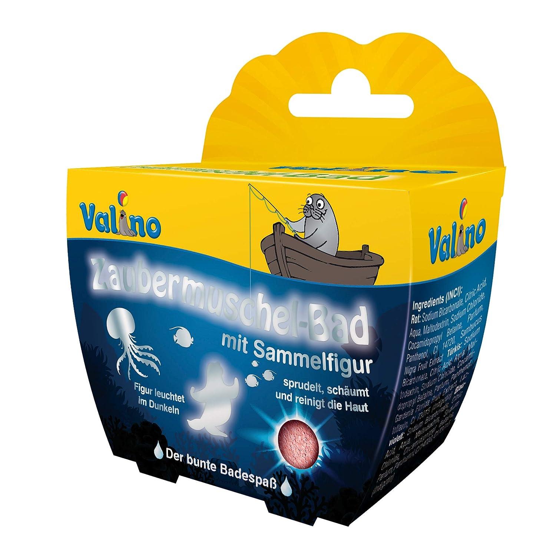 Valino Zaubermuschel- Bad rot, 6er Pack (6 x 1 Stück) 6er Pack (6 x 1 Stück) 8072