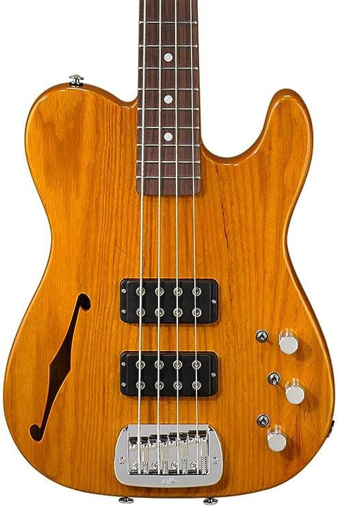 G & L antisatélite Semi-Hollow bajo eléctrico Guitarra