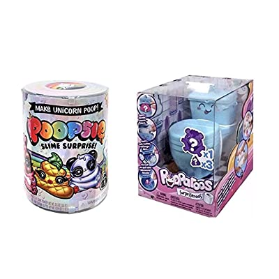 Poopsie Slime Surprise and Pooparoos Surpriseroos Bonus Bundle: Toys & Games