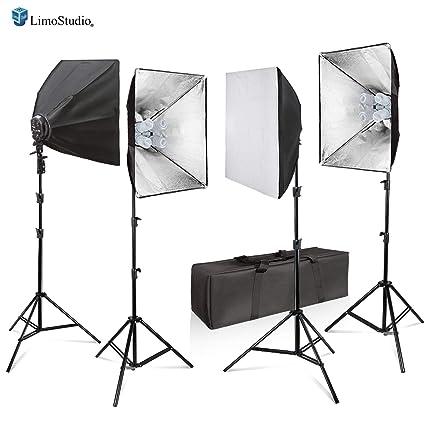 Amazoncom Limostudio 3200w Photo Video Studio Softbox Lighting