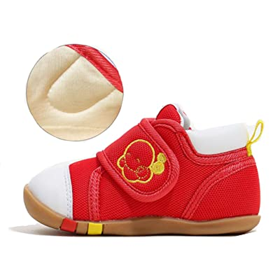 Baby Girls Boys Shoes First Walkers Health First Step Shoes Fashion Casual Sneakers Canvas Soft Sole Toddler Shoes