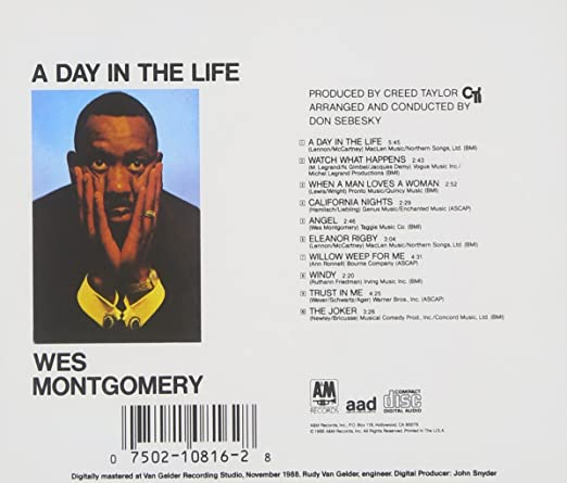 Wes Montgomery - A Day in the Life - Amazon.com Music