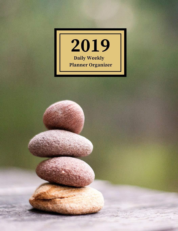 Amazon.com: 2019 Daily Weekly Planner Organizer: Schedule ...