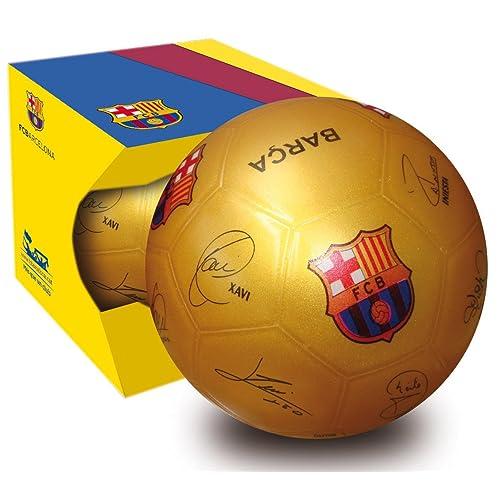 Unice 502021–Ballon de football en étui FC Barcelona