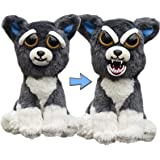 "William Mark- Feisty Pets: Sammy Suckerpunch- Adorable 8.5"" Plush Stuffed Dog That Turns Feisty With A Squeeze"