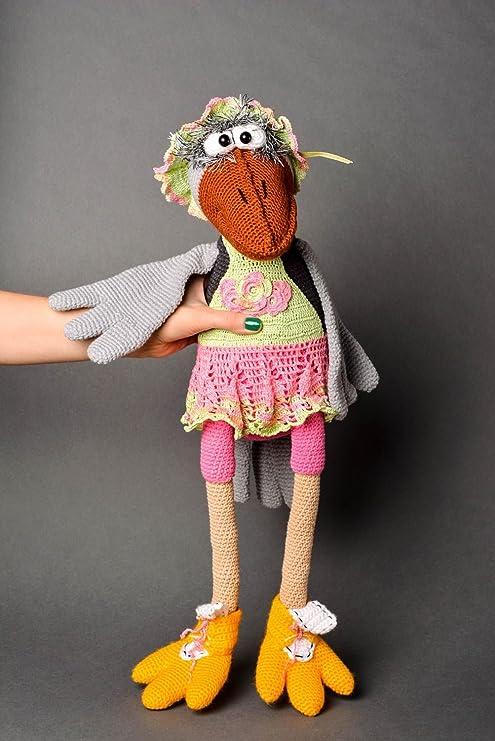 Muneca hecha a mano juguete tejido decoracion de habitacion regalo para nina: Amazon.es: Juguetes y juegos