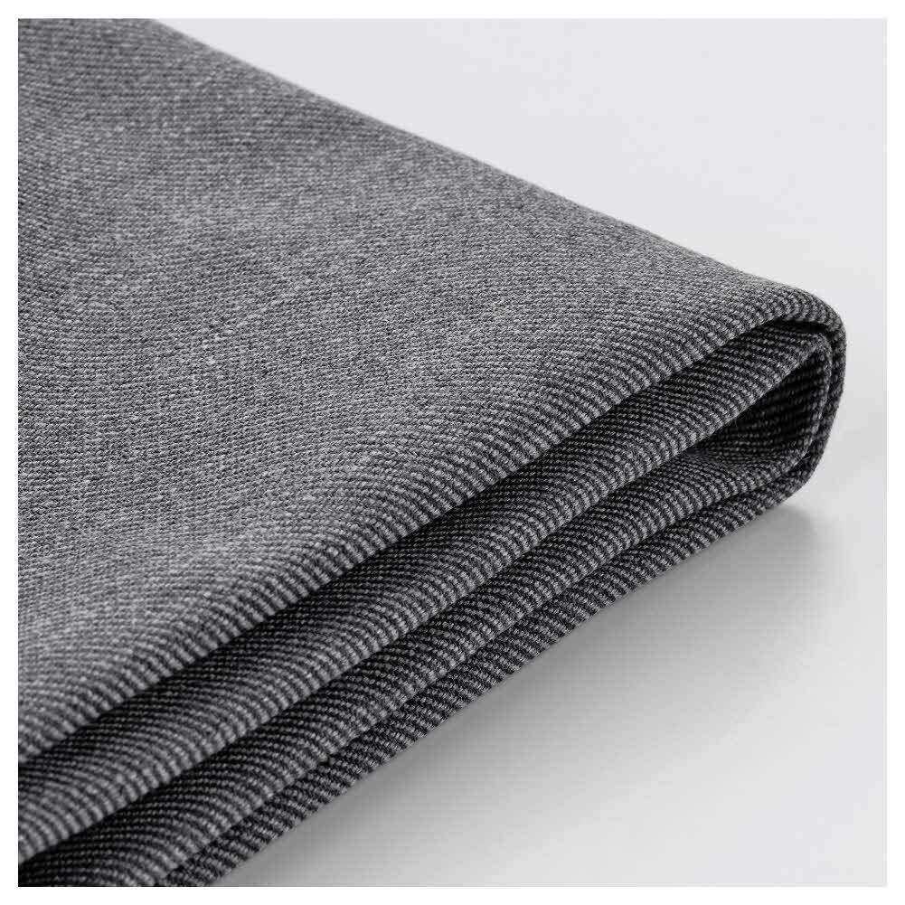 IKEA ASIA EKTORP Footstool Cover, Nordvalla Dark Grey
