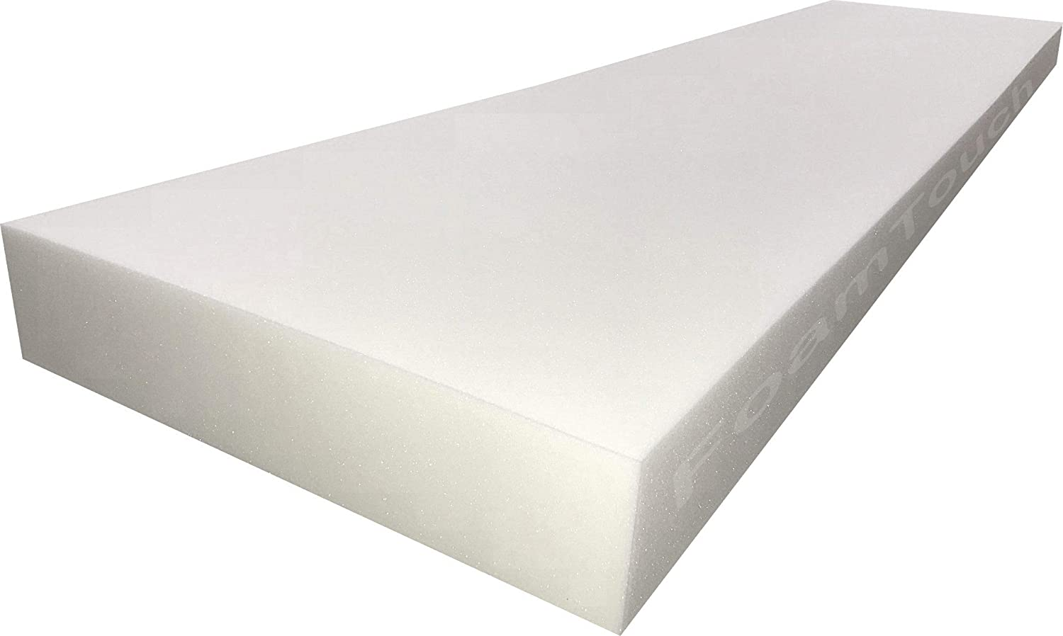 FoamTouch Upholstery Foam Cushion, 2'' L x 30'' W x 72'' H, High Density